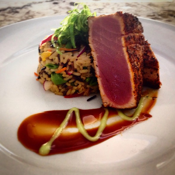 Blackened Yellowfin Tuna - ELA'S On the Water, Hilton Head Island, SC