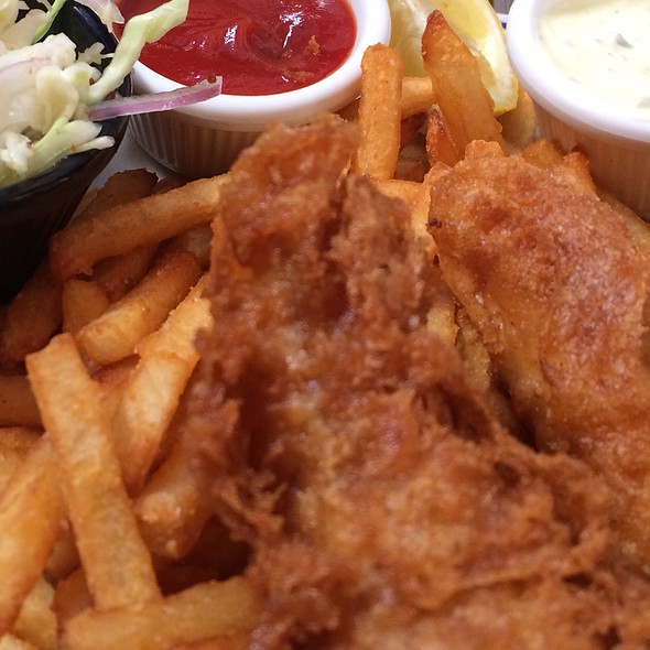 Fish and Chips - BeachFire Bar and Grill - San Clemente, San Clemente, CA