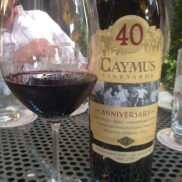 Camus Cabernet 40Th Anniversary - Chandler's a Restaurant, Petoskey, MI