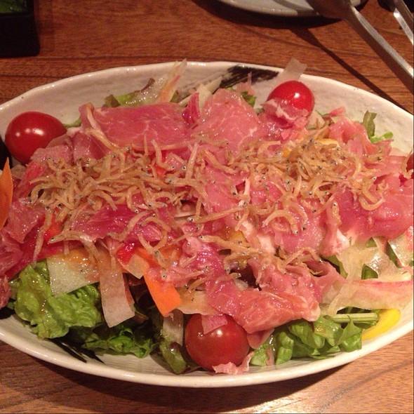 Sashimi Salad - 福炎や, 港区, 東京都