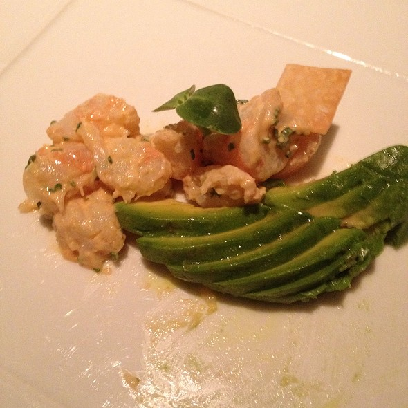 Gulf Shrimp And Avocado Salad - BOURBON STEAK San Francisco, San Francisco, CA