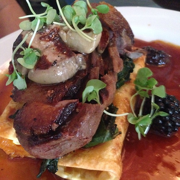 Duck Breast and Foie Gras - Poached Pear Bistro, Point Pleasant Beach, NJ