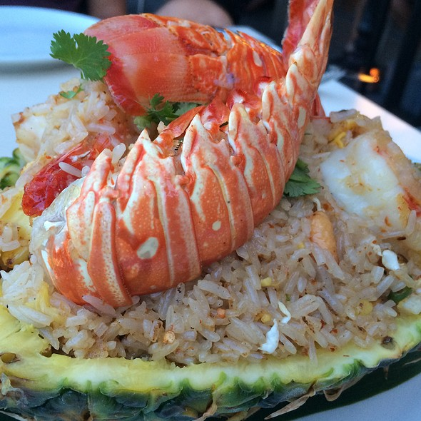 Pineapple Fried Rice Close Up - Asia Bay Sushi Bar & Thai, Fort Lauderdale, FL