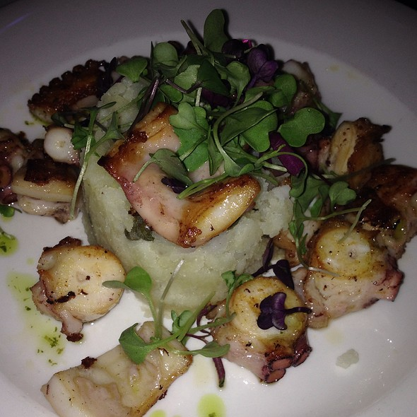 Grilled Octopus - I Tre Merli (FKA Revel), New York, NY