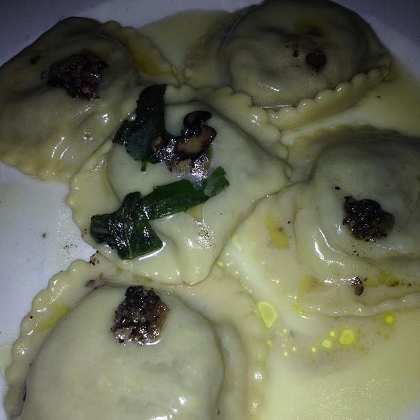 Porcini Mushroom Ravioli - I Tre Merli (FKA Revel), New York, NY
