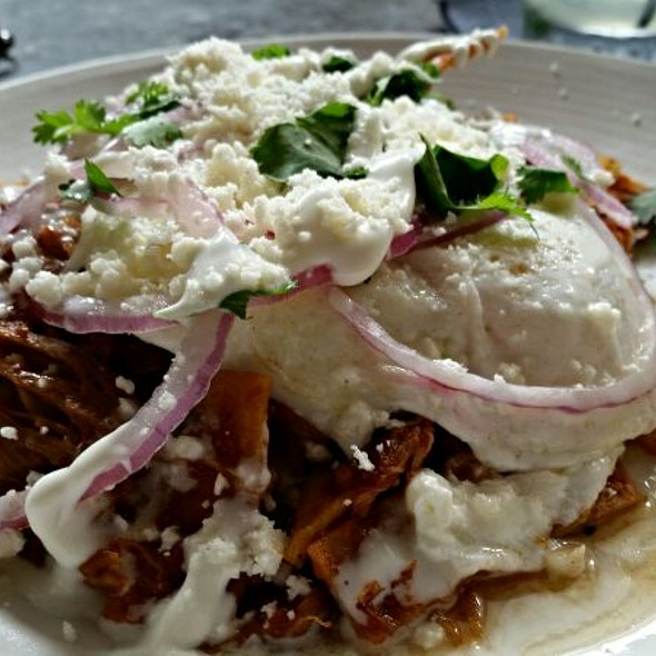 Chilaquiles - Whisknladle, San Diego, CA
