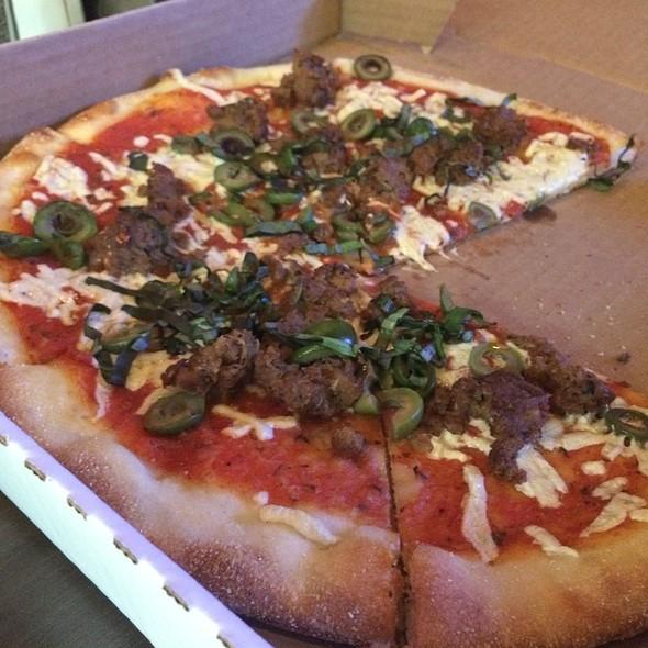 Vegan Pizza - Slice of Vegas, Las Vegas, NV