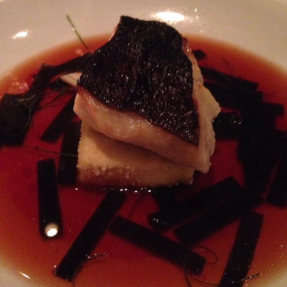 Miso Marinated Sable With Crispy Silken Tofu In A Bonito Broth - Annisa, New York, NY