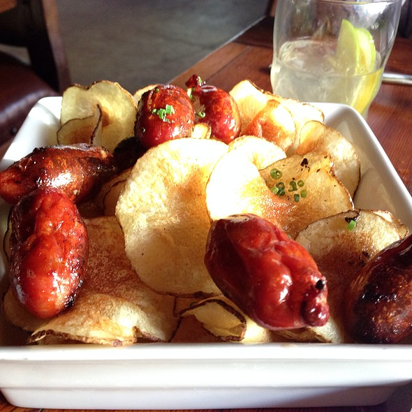 Roasted Baby Chorizos, Potato Crisps - Estadio, Washington, DC