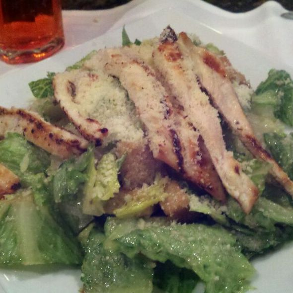 Grilled chicken Ceasar Salad - Castalia 997 Restaurant & Lounge, Woodland Park, NJ