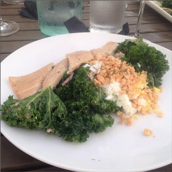 Kale & Smoked Trout Salad - Black Sheep Restaurant, Jacksonville, FL
