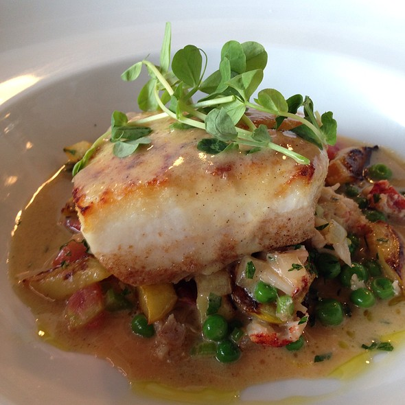 Roasted Halibut - Plow & Anchor, Indianapolis, IN
