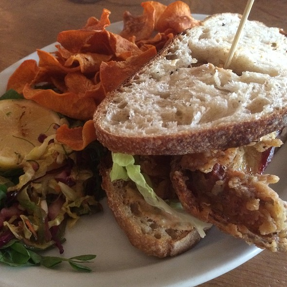 Soft Shell Crab Sandwich - Big Fish, Calgary, AB