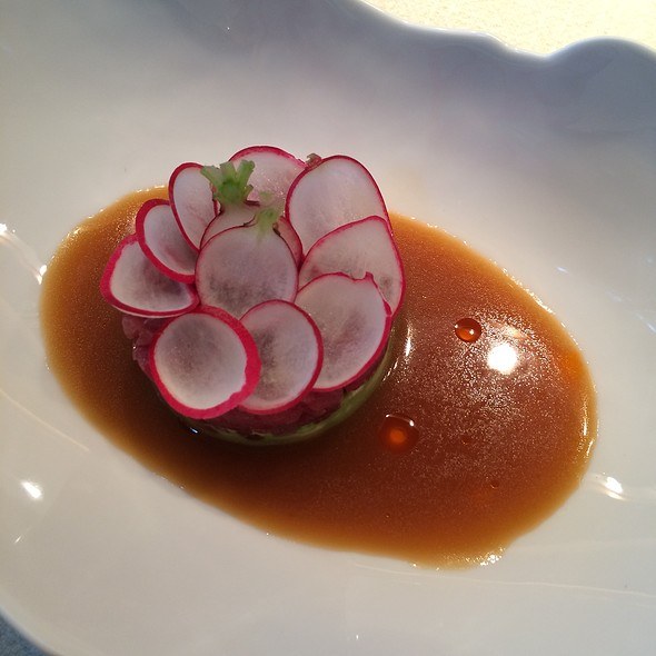 Tuna Tartare, Avocado, Radish, Ginger Dressing - Jean-Georges Tokyo, 港区, 東京都