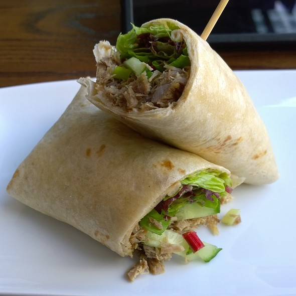 Duck Wrap - Smollensky's Canary Wharf Restaurant, London