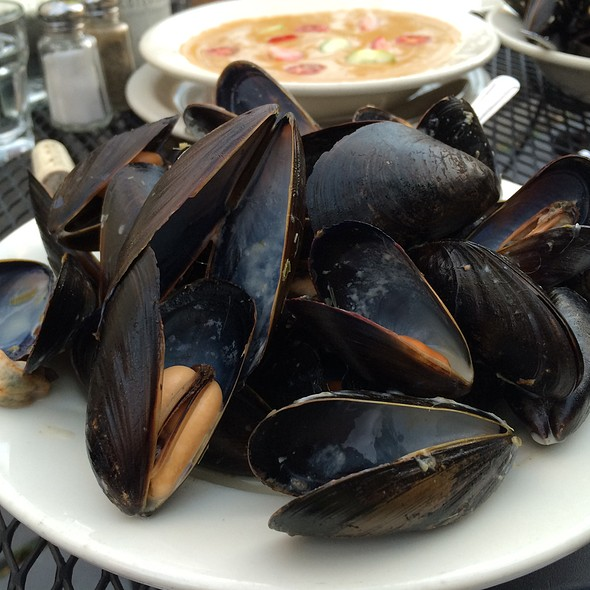 Mussels In Thai Coconut Lemongrass Broth With Basil - Bistro La Source, Jersey City, NJ