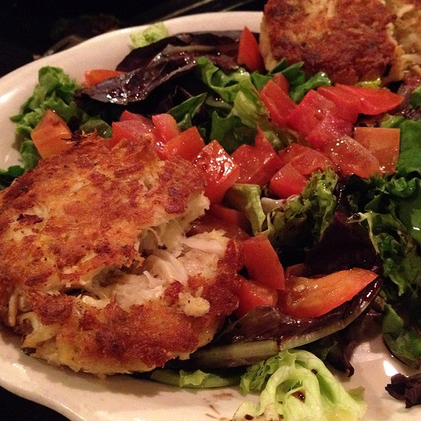 Crab Cakes - Capri Restaurant at Miracle Springs Resort & Spa, Desert Hot Springs, CA