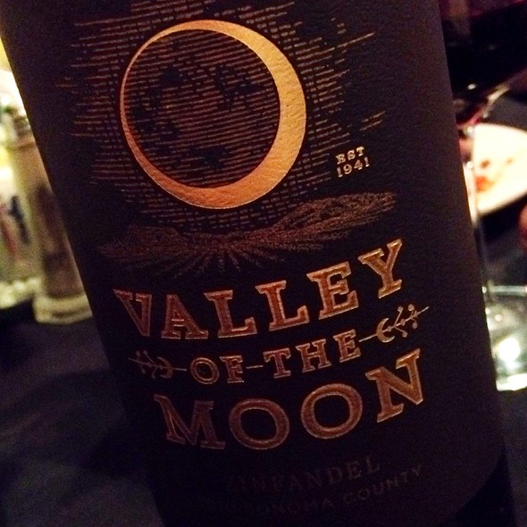 Valley Of The Moon Zinfandel - Capri Restaurant at Miracle Springs Resort & Spa, Desert Hot Springs, CA
