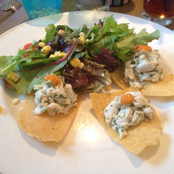 Lump Crab Tostada Salad - Blossom, Charleston, SC