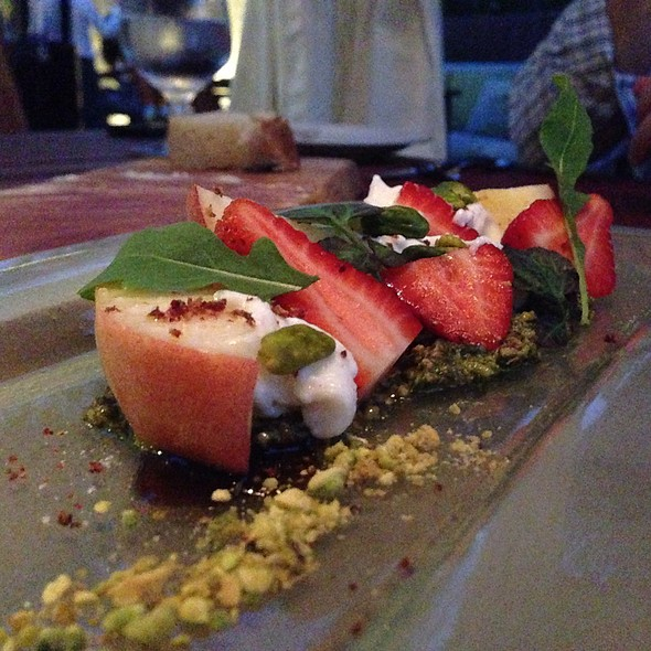 White Peaches & Pistachio - KITCHEN 1540, Del Mar, CA