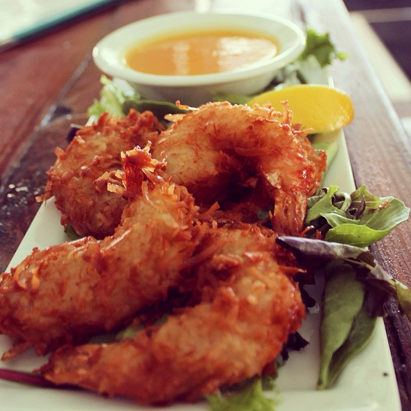 Coconut Shrimp & Pineapple Sauce - Southernmost Beach Cafe, Key West, FL