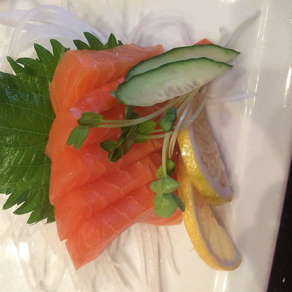 Salmon Sashimi - Kabuki Japanese Restaurant - Hollywood, Hollywood, CA