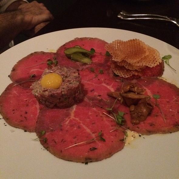 Duet Of Prime Beef Tartar & Wagayu Carpaccio - Deuxave, Boston, MA