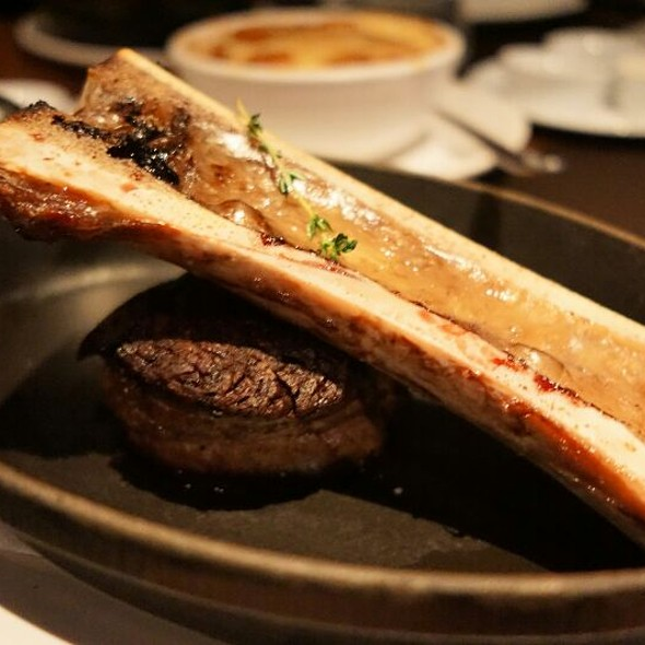 Tenderloin & Bone Marrow - Jacobs & Co. Steakhouse, Toronto, ON