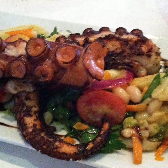 Grilled Octopus - Trattoria di Monica, Boston, MA