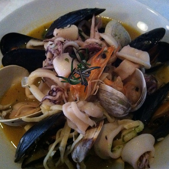 Mixed Seafood Linguine - Trattoria di Monica, Boston, MA