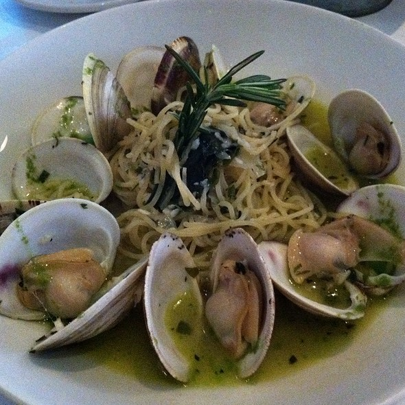 Spaghettini With Clams - Trattoria di Monica, Boston, MA