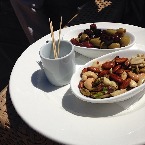 nuts and olives - Lynmar Estate, Sebastopol, CA
