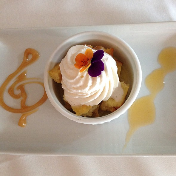 Seasonal Bread Pudding - The Joel Palmer House, Dayton, OR