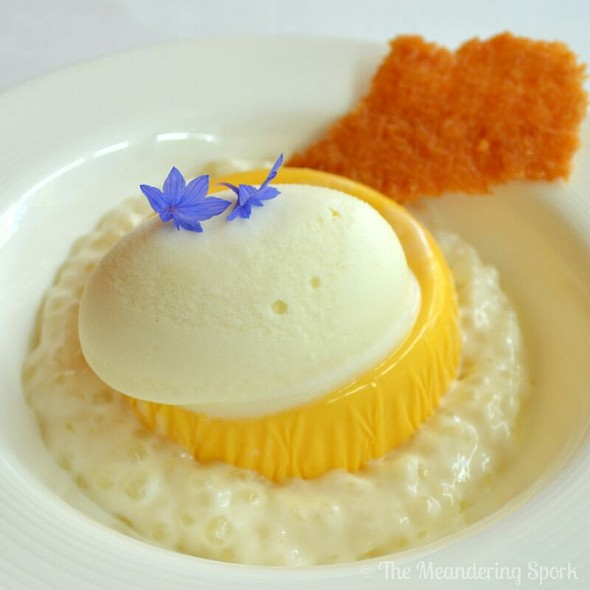 Mango Pudding - BOSK at Shangri-La Hotel Toronto, Toronto, ON