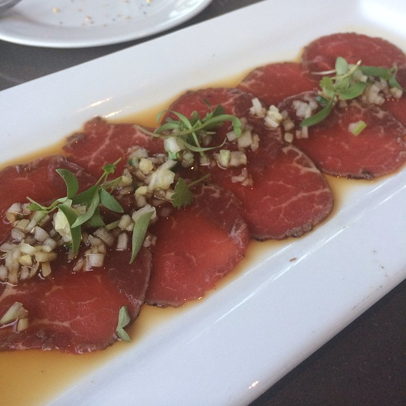 Beef Carpaccio - Cafe Modern, Fort Worth, TX