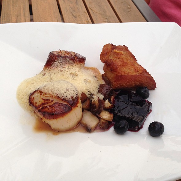 Maine Diver Scallops & Pork Belly - Tryst - St Petersburg, St. Petersburg, FL