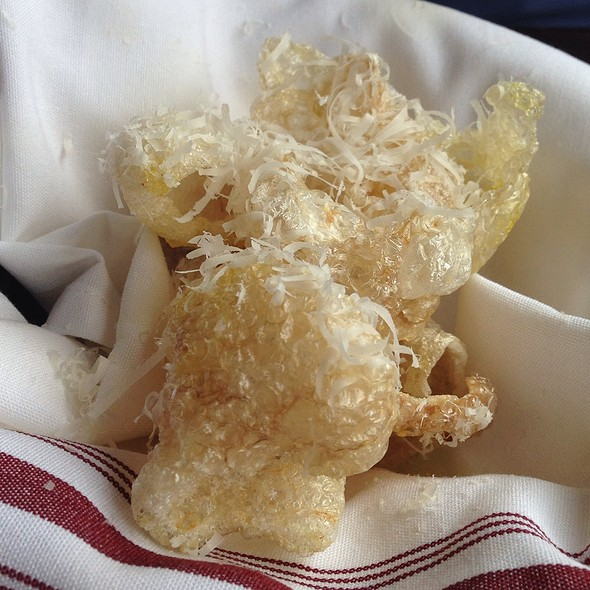 Truffled Housemade Pork Rinds - The Pullman, Glenwood Springs, CO