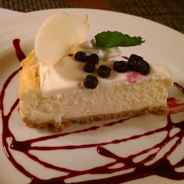 Cheesecake - Hoist House Restaurant at Swiftwater Cellars, Cle Elum, WA