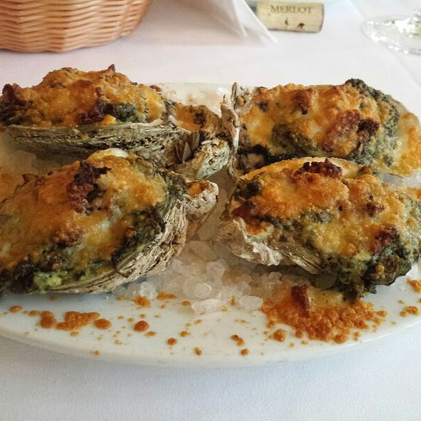 Oysters Rockefeller - New York Prime Steakhouse - Myrtle Beach, Myrtle Beach, SC