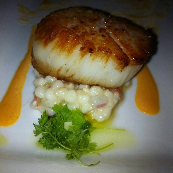 Pan Seared Scallop Appetizer - The Orangery, Knoxville, Tennessee