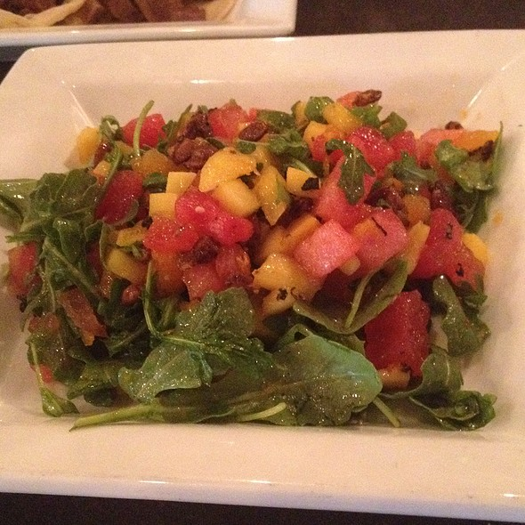 Heirloom Tomato And Watermelon Salad - Q Roadhouse, Wilson, WY