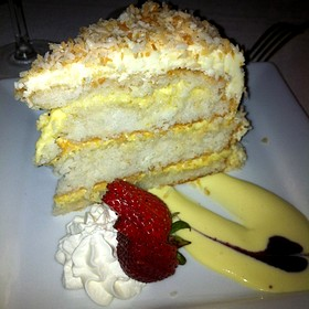 Coconut Cake - The Orangery, Knoxville, TN