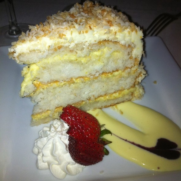 Coconut Cake - The Orangery, Knoxville, Tennessee