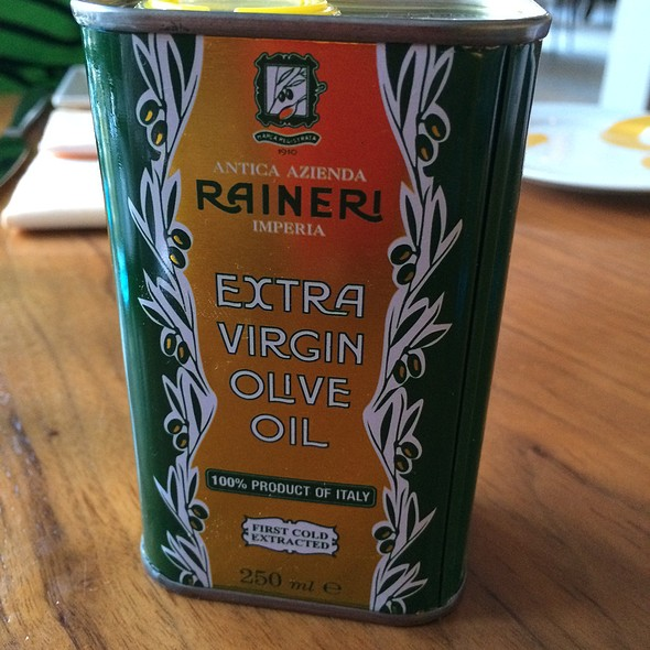Olive oil - Stella 34 Trattoria, New York, NY