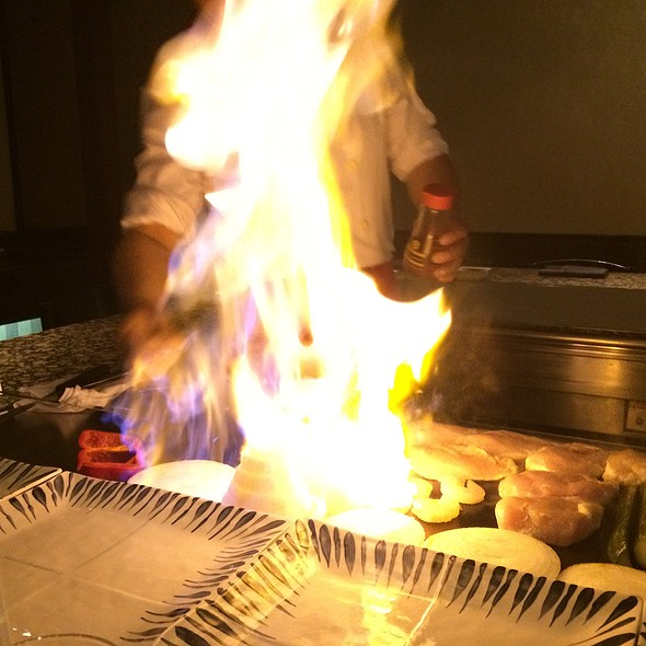 Kaboom!! Fiery Onion! - Katsura - Westin Prince Toronto, Toronto, ON