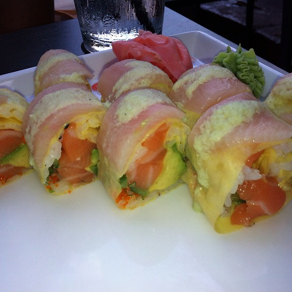 White Hot Sushi Roll - Sushi Lounge, Hoboken, NJ