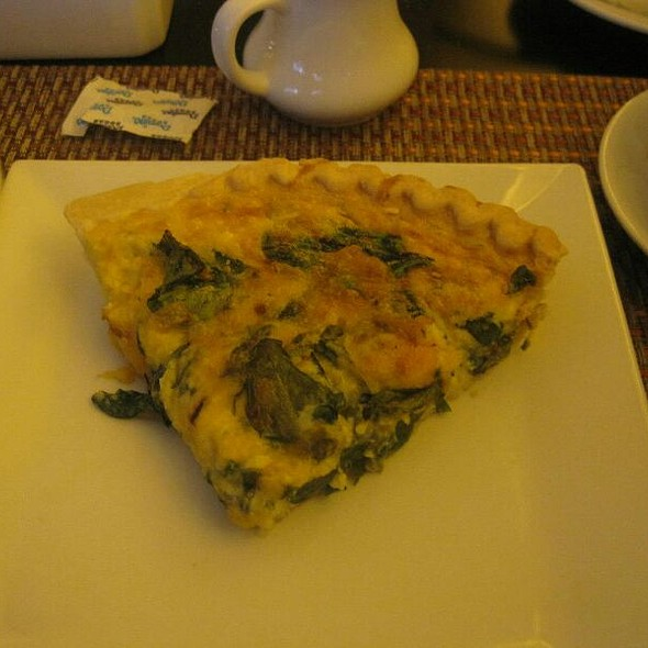Quiche - Glass House Tavern, New York, NY