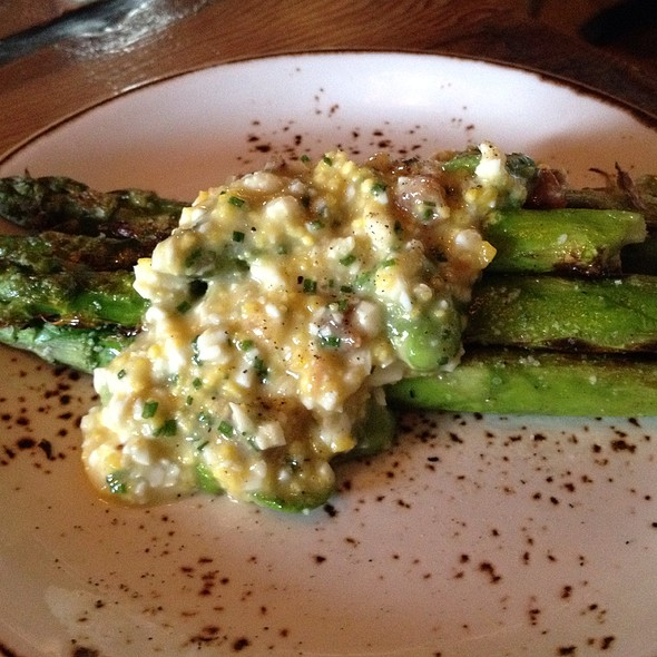 Grilled Asparagus - The Fat Ham, Philadelphia, PA