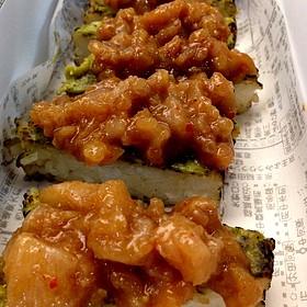 Sushi Cake De Hamachi - El Japonez - Polanco, México, DIF