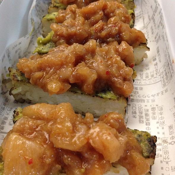 Sushi Cake De Hamachi - El Japonez - Polanco, Ciudad de México, CDMX